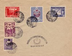 ENVELOPPE / COVER : KAISERLICH OSMANISCHE FELDPOST 65 - BUKAREST / OTTOMAN MILITARY POST OFFICE In ROMANIA ~ 1917 (ad949 - Occupazione