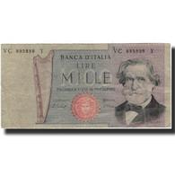 Billet, Italie, 1000 Lire, KM:101e, B+ - [ 2] 1946-… : République