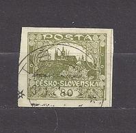 Czechoslovakia 1919 Gest ⊙ Mi 21 Sc 34  Hradcany At Prague. Tschechoslowakei C2 - Tschechoslowakei/CSSR