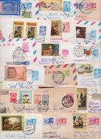 RUSSIE RUSSIA URSS USSR CCCP - Beau Lot Varié De 270 Enveloppes Entiers Postaux Postal Stationery Cover Entier Postal PP - 1923-1991 URSS