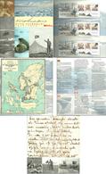 Norway 2004 Otto Sverdrup  Folder With Norway Mi Bloc 25,Greenland Mi Bloc 26 And Canada Mi Bloc 69 - MNH(**) - Norwegen