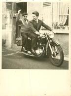 Photo Originale Moto 12x8.5cm    Réf 2024 - Motorbikes