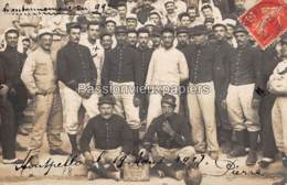 CARTE PHOTO MONTPELLIER 1907  CANTONNEMENT Du 99ème REGIMENT - Montpellier