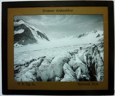 GROSSER ALETSCHFIRN - SUISSE - Glass Slides