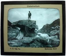 GLETSCHERTISCH - SUISSE - Glass Slides