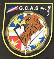 ECUSSON  SECURITE CIVILE UISC5 GCAS CORTE HAUTE CORSE - Blazoenen (textiel)