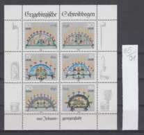 91K85 / 1986 - Michel Nr. Klb. 3057 - 3062 ( ** ) Erzgebirgische Schwibbogen , DDR , Germany Deutschland - Blocs