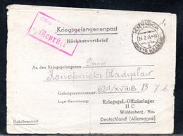 KRIEGSGEFANGENENPOST NAZI GERMANY THIRD REICH WW2 PRISONER OF WAR POW CAMP OFLAG IIC WOLDENBERG DOBIEGNIEW - KRYNICA - Gevangenkampen