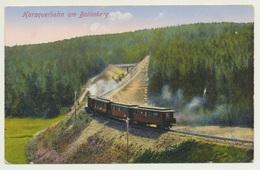 AK  Harzquerbahn Am Bollerberg - Trains