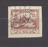 Czechoslovakia 1918 Gest ⊙ Mi 8 Sc 8 Hradcany At Prague. Tschechoslowakei. C2 - Tschechoslowakei/CSSR