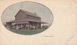 MINNEAPOLIS , Minnesota , PMC 1898 ; Log Cabin On Fair Grounds - Minneapolis