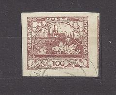 Czechoslovakia 1918 Gest ⊙ Mi 8 Sc 8 Hradcany At Prague. Tschechoslowakei. C3 - Czechoslovakia
