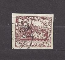 Czechoslovakia 1918 Gest ⊙ Mi 8 Sc 8 Hradcany At Prague. Tschechoslowakei. C4 - Czechoslovakia
