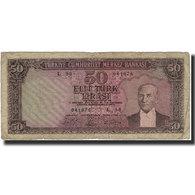 Billet, Turquie, 50 Lira, KM:175a, B - Turkey