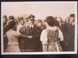 Postkarte Propaganda Hitler In Polen 1940 - Germany