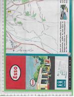 01502-E BE04 1000-Expo 58  Carte Routiére Et Plan De L Exposition - Cartes Routières