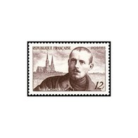 Timbre N° 865 Neuf ** - Charles Péguy Et Cathédrale De Chartres. - Unused Stamps