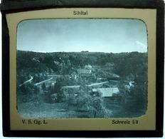 SIHITAL - SUISSE - Plaques De Verre
