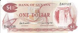 1 Dollars 1966 - Guyana