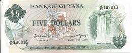 5 Dollars 1966 - Guyana