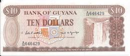 10 Dollars 1966 - Guyana