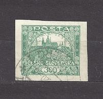 Czechoslovakia 1919 ⊙ Mi 22 Sc 38 Hradcany At Prague. Tschechoslowakei C1 - Czechoslovakia