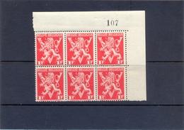 Nrs. 680A-V Postgaaf ** Zeer Mooi 15 Côte MNH - Errors (Catalogue COB)