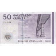 TWN - DENMARK 65g3 - 50 Kroner 2014 Prefix B3 - Sign. Rohde - Sørensen UNC - Danimarca