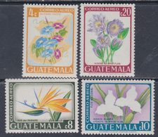 Guatemala PA N° 362 / 65 XX : Fleurs Diverses, La Série Des 4 Valeurs Sans Charnière, TB - Guatemala