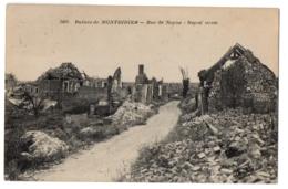 CPA 80 - MONTDIDIER (Somme) - 3400. Rue De Noyon, Ruines - Montdidier
