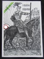 Postkarte Propaganda Absolvia Dillingen 1938 - Allemagne