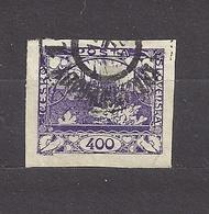 Czechoslovakia 1918 Gest ⊙ Mi 10 Sc 10 Hradcany At Prague. Tschechoslowakei C3 - Czechoslovakia