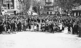 PHOTO DIGNE MANIFESTATION PATRIOTIQUE Devant Le PONT -1 - Digne