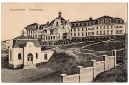 CPA ALLEMAGNE - SAARBRÜCKEN - Krankenhaus - Saarbruecken