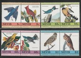 NEVIS - N°271/8 ** (1985) OISEAUX / BIRDS - St.Kitts Y Nevis ( 1983-...)