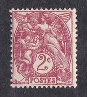 FRANCE  Y&T N° 108  NEUF ** - 1900-29 Blanc
