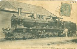 (60) Liancourt : Machine En Gare - Liancourt