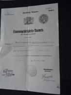 Original Staatsangehörigkeits - Ausweis Freistaat Bayern 1932 - Documents Historiques
