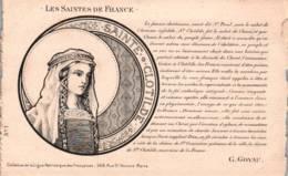 CPA - FANTAISIE - PRENOM Ste CLOTHILDE - Carte Illustrée - Edition H.L - Prénoms