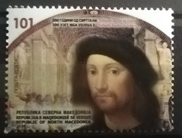 NORTH MACEDONIA  2020 -The 500th Ann. Of The Death Of Raffaello Sanzio Urbino MNH - Mazedonien
