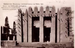 CPA - EXPO COLONIALE Internationale - PARIS 1931 - LA MOSQUEE INDIGENE ... - Edition Braun Cie - Exhibitions