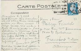 TARIF 1 Février 1926 Carte Postale - Pasteur N°177 Arcachon Daguin 6 Juillet 1926 - CP Arcachon - Posttarife