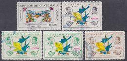 Guatemala PA N° 463 / 66 O : Centenaire De La Révolution Libératoire De 1871, La Série Des 5 Valeurs Oblitérées TB - Guatemala