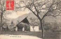 73 Le Montcel Cpa Edit Curtelin Cachet 1913 - Autres Communes