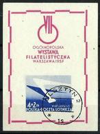 Polonia HB 19 Usado - Blocs & Hojas
