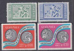 Guatemala PA N° 607 / 10 XX : Les 4 Valeurs Sans Charnière, TB - Guatemala