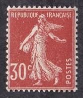 FRANCE  Y&T  N° 360  NEUF ** - 1906-38 Semeuse Camée