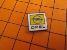 513d Pin's Pins / Belle Qualité Et Rare / THEME AUTOMOBILES : LOGO DE LA MARQUE OPEL Ahhh Le Blitz Gross Bonheur !! - Opel