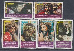 Guatemala PA N° 611 / 16 XX : Semaine Sainte, La Série Des 6 Valeurs Sans Charnière, TB - Guatemala