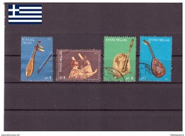 Grèce 1975 - Oblitéré - Musique - Michel Nr. 1219 1221-1223 (gre632) - Gebraucht